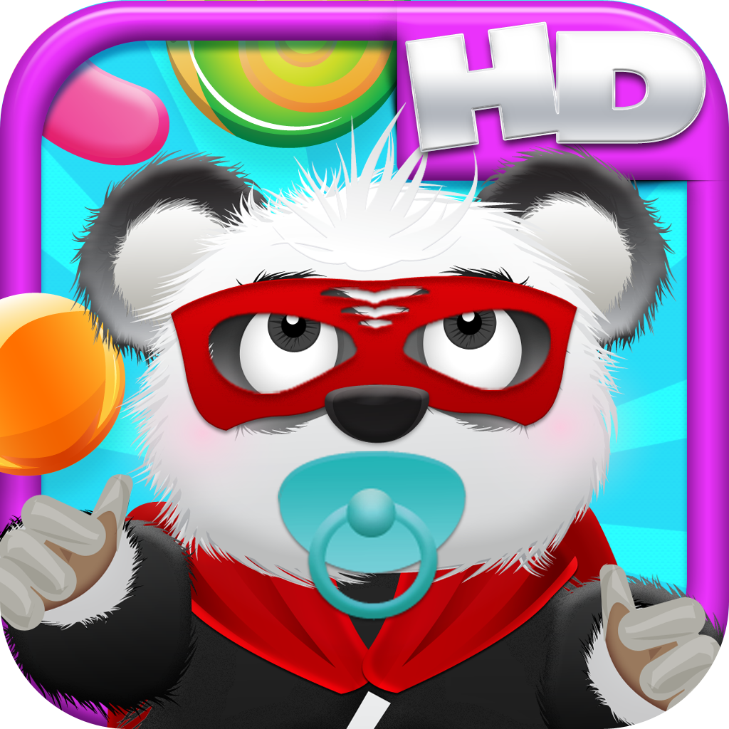 Baby Panda Bears Candy Rain HD -  Fun Cloud Jumping Edition FREE Game!
